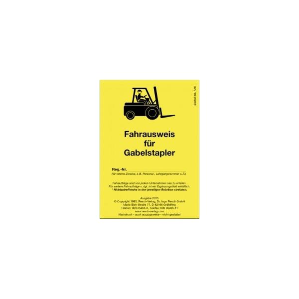 Forklift kamyon için bilet