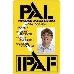 Carte PAL IPAF