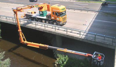 Brückenuntersichtgerät Cramer Arbeitsbühnen