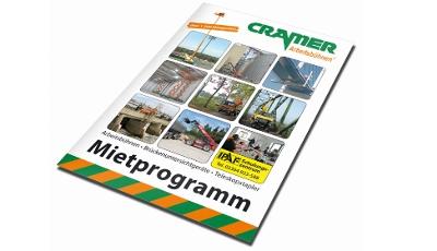 Neues Mietprogramm 2017 Cramer Arbeitsbühnen
