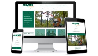 Neue Website Cramer Arbeitsbühnen