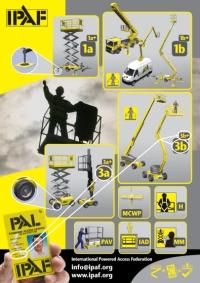 IPAF-Poster mit Schulungskategorien