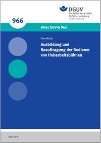 Titelblatt BGG 966