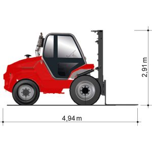 Fahrzeugmaße GSD 50-5500 A