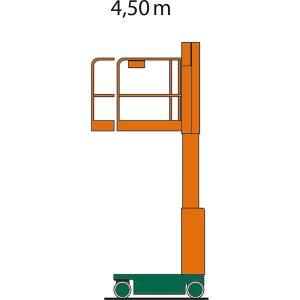 Indoorlift PowerTowers Nano SP Arbeitshöhe