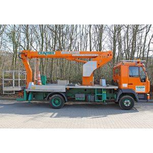 Stage de camion T 17 K utilisé à la vente