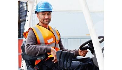Kurztipps für Gabelstaplerfahrer der BG ETEM