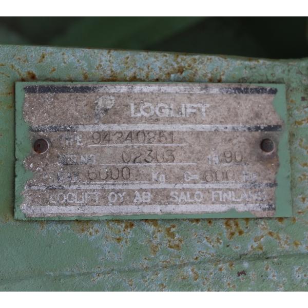 Loglift Spänegreifer 1m³
