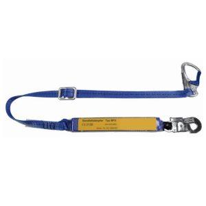PSA-Verbindungsmittel mit Bandfalldämpfer